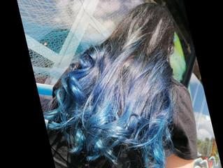 Blu Zaffiro: il nuovo hair color più glamour del momento!