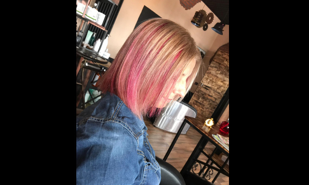 Rose Copper Hair Color