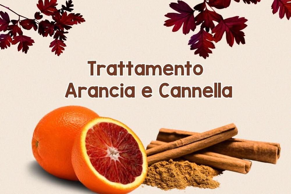 Trattamento arancia e cannella