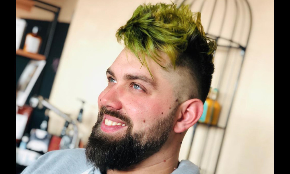 Hair color uomo