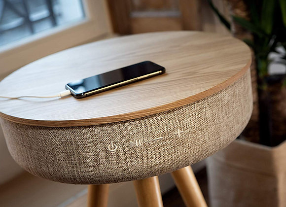 Audio Fidelity Bluetooth Table Speaker with Wireless Charging