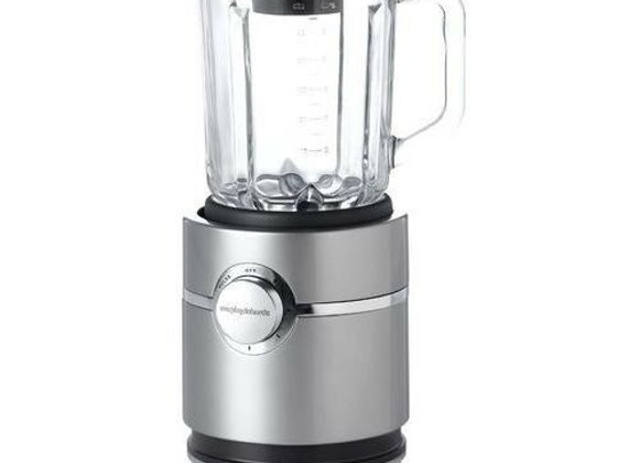 Morphy Richards Food Fusion 48953 Glass Blender, Stainless Steel 800W