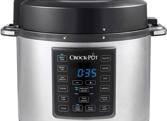 Crock-Pot Express Pressure Cooker CSC051, 12-in-1 Programmable Multi-Cooker