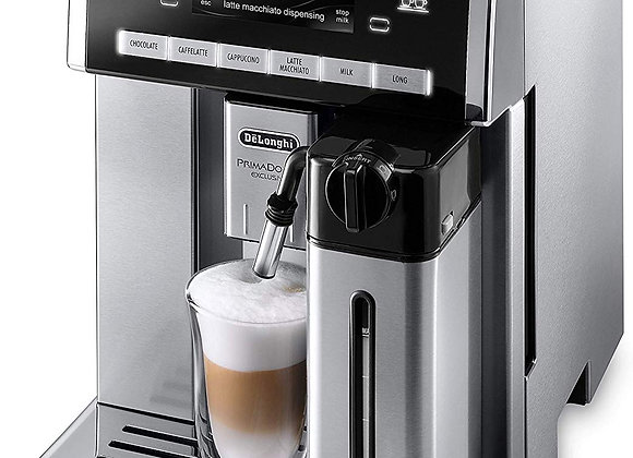 DeLonghi ESAM 6900.M - PrimaDonna Exclusive Bean-to-cup machine - silver