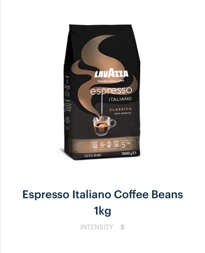Lavazza, Illy and Davidoff Coffee Beans in Pakistan.  Biggest Range in Stock Now!