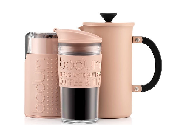 Bodum Tribute French Press Set Stainless Steel