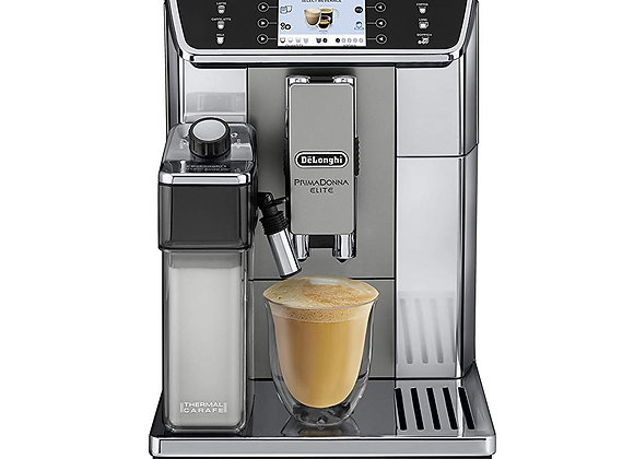 Delonghi PrimaDonna Elite Experience ECAM 650.85.MS Bean to Cup Coffee Machine