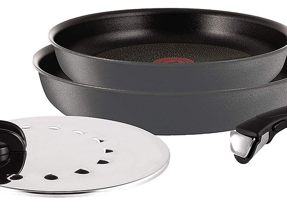 Tefal L6589203 Ingenio 5 Induction Frying Pans - Suitable for all Heat Sources