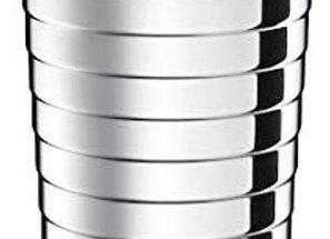 Nespresso Touch Travel Mug Silver Tumbler Stainless Steel 345ml