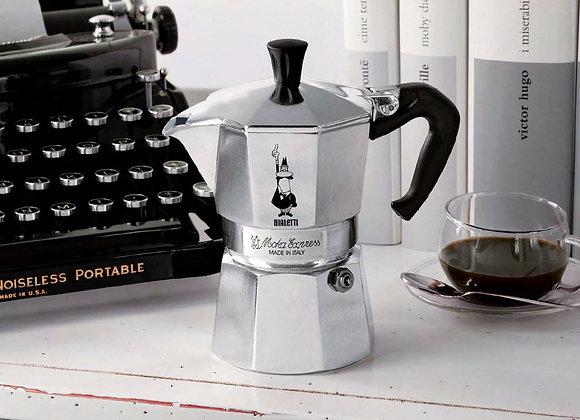 Bialetti Moka Express Espresso Maker, makes 6 Cup by Bialetti