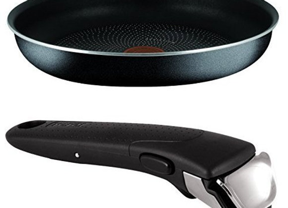 Tefal Ingenio Essential 26 cm Non-stick Frying Pan with Removable Handle Bundle
