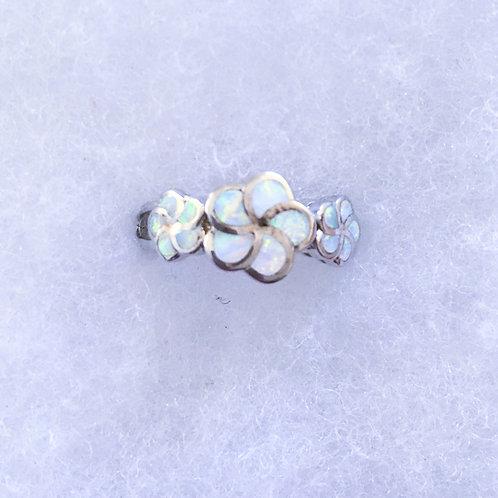 Flower white lab opal
