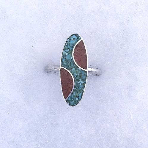 Oblong ring 1