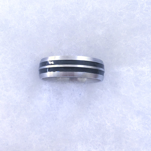 Stainless band ring
