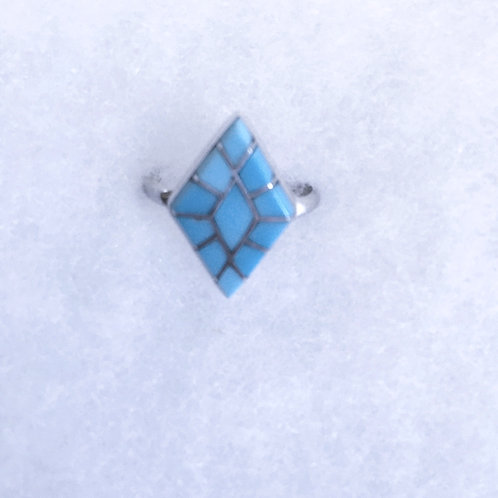 Inlay Turquoise ring