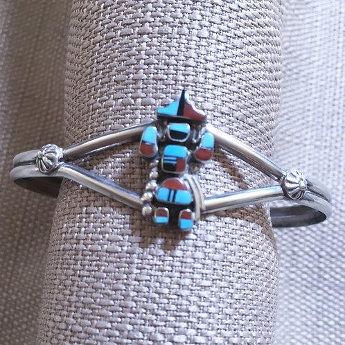 Inlay  cuff  bracelet