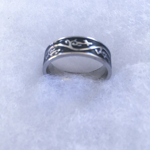 Steel  band ring