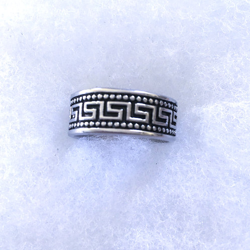 Greek eternity ring