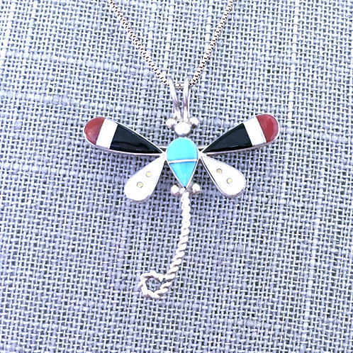 Dragonfly Inlay necklace