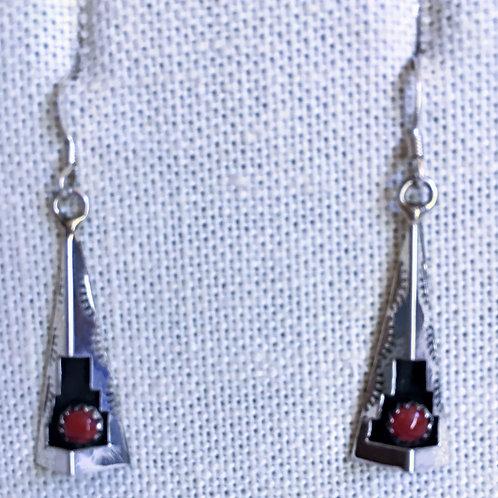 Shadow box earrings