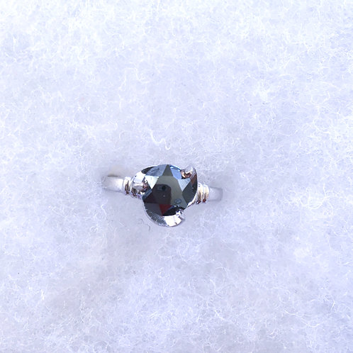 Faceted hematite (size 7 )