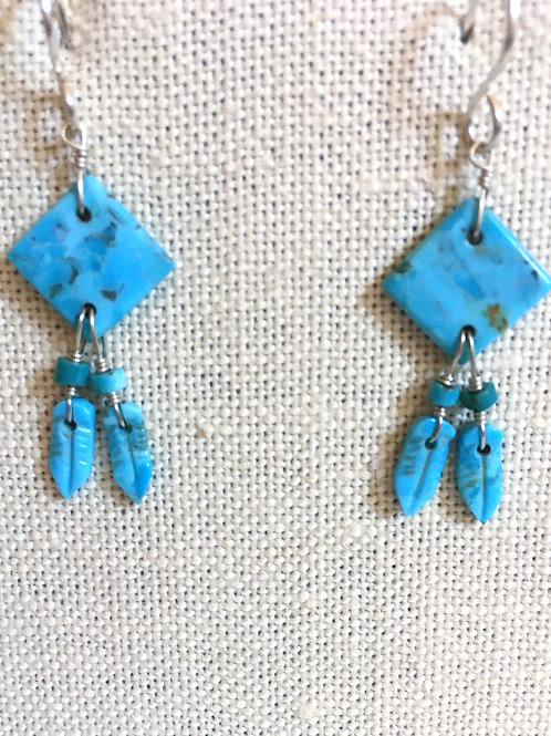 Feather turquoise