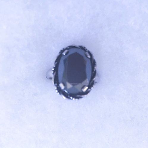 Faceted Hematite