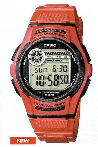 Часы наручные CASIO W213D-1AVES