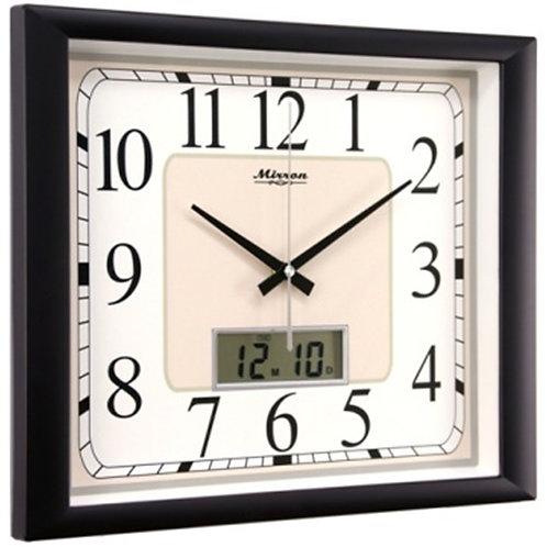 Часы настенные MIRRON М 2202Ажк ЧБ