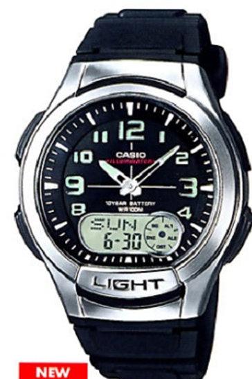 Часы наручные электронные CASIO AQ-180W-1BVES