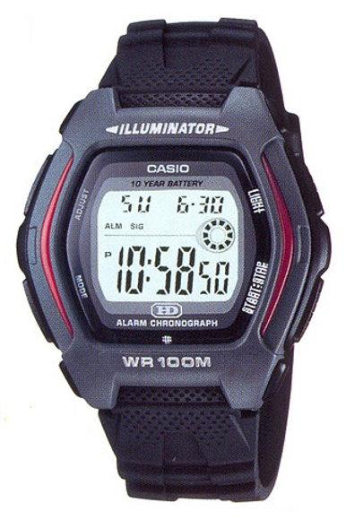 Часы наручные электронные CASIO HDD-600-1AVES