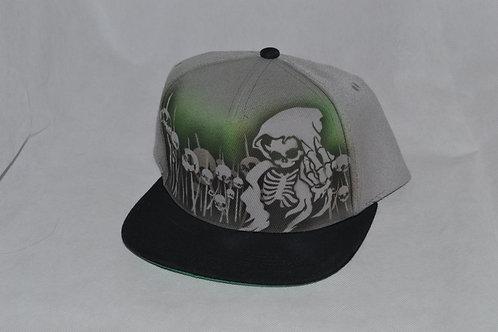 Custom Airbrushed Cap