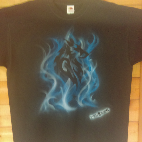 copy of Custom Airbrushed T-shirt