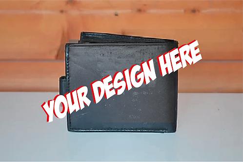 Custom Airbrushed Wallet