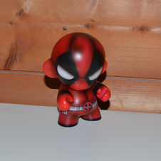 Custom painted Munny kidrobot