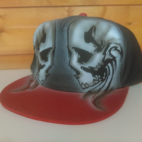 Custom Airbrushed Cap