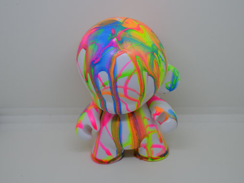Custom Munny Toy Rainbow