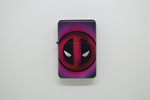 Custom Airbrushed Deadpool logo