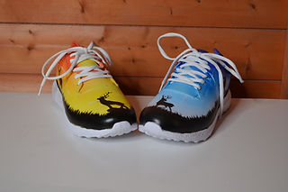 Custom airbrushed trainers.JPG