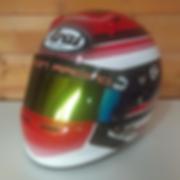 Arai Custom painted helmet