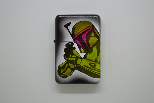 Custom Airbrushed Bobba Fett