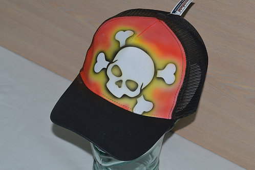 Skull And Cross, Snap-back
