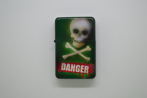 Custom Airbrushed Danger