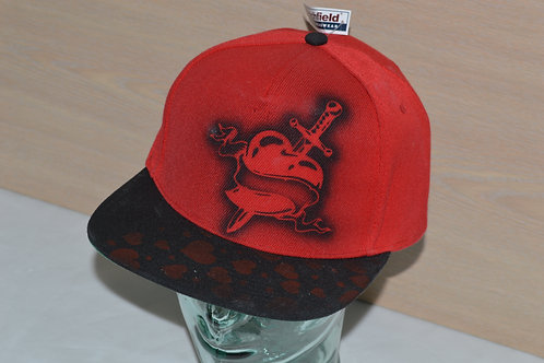 Heart on Red, Snap-back