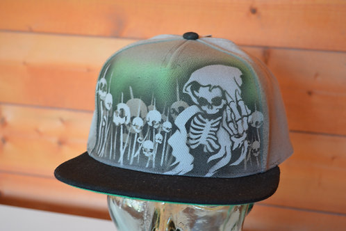 Reaper Custom Airbrushed Cap