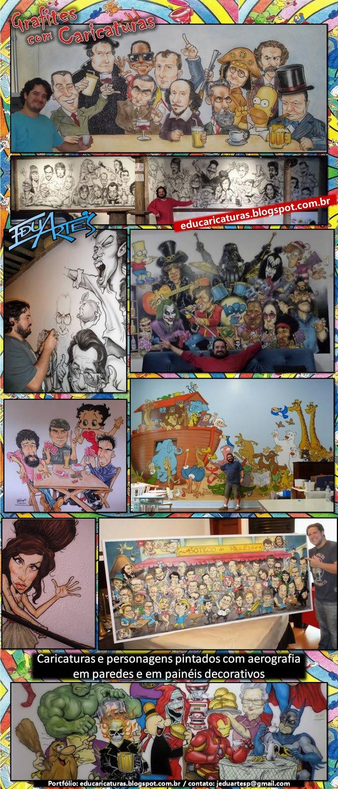Edu Grafitti e caricaturas