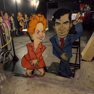 Caricaturas da Dilma e do Juiz Sergio Moro (para WC)