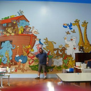 Painel da Arca de Noé