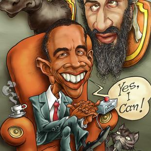 Osama e Obama