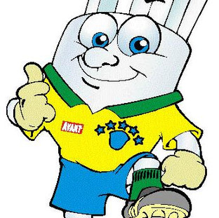 Mascote criado para empresa de lêmpadas